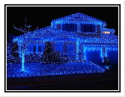 blue led lights with c9 led light bulbs and 2 outline on