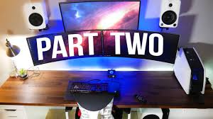 Gaming Setup Desk Building My Insane Gaming Setup The Desk Part 2 Youtube