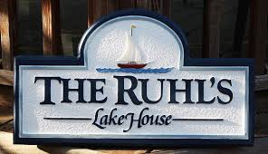 Custom Decorative Signs Custom Lake House Sign Housewares Sign Welcome Home Decor Sign