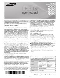 samsung un40eh5050 user manual