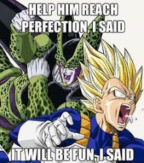Cell Meme - perfect cell meme 3 by omnisupersaiyan3 on deviantart