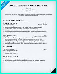 data entry resume pin on resume sle template and format data entry