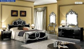 Made In Italy Luxury Bedroom Set Black Lacquer Bedroom Set Collection Including Modern Sets Within