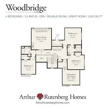 Arthur Rutenberg Homes Floor Plans Woodbridge Home Plan Lake Norman Home Builders