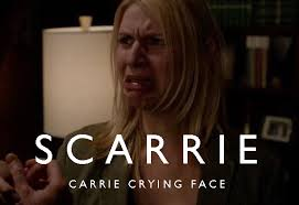 Claire Danes Cry Face Meme - homeland claire danes has the best crying face lol dude i always