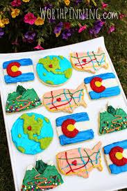 Indian Flag Cake Worth Pinning Colorado Sugar Cookie Set