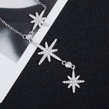 crystals fashion necklace images 2018 new personality stars necklace crystals from austrian fashion jpg