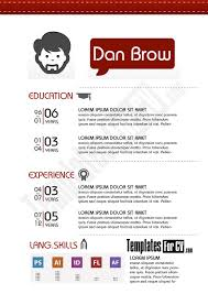 graphic designer resume template vector free download cool resume
