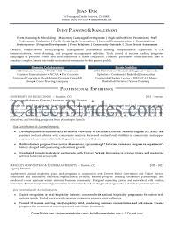 event manager resume sample security guards companies