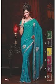 sari mariage sari indien de mariage mariage turquoise brode de perles