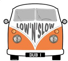 volkswagen hippie van clipart low n slow slogan for retro split screen vw camper van bus design
