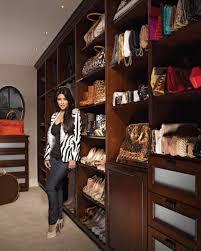 khloe kardashian shoe closet