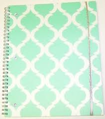 pattern play notebooks carolina pad studio c college ruled poly cover spiral notebook