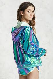 Holographic Clothing For Sale Holographic Windbreaker Jacket Forever21