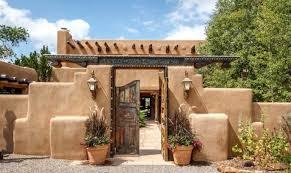 southwestern houses the 17 best santa fe style houses home plans blueprints 68202