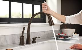 delta free kitchen faucet comparing touch and touch free faucets inspired learning delta
