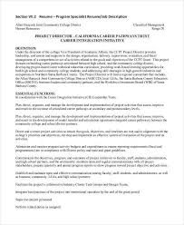 Mental Health Specialist Resume 100 Program Specialist Resume Sample Click Here To Download
