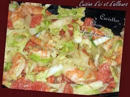 cuisiner le chou chinois cuit recette de chou chinois aux crevettes et au gingembre