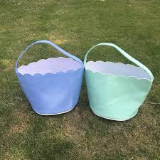 easter buckets wholesale 2017 new arrival wholesale blanks domil scalloped edge easter
