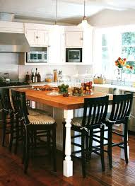 Kitchen Island Table Sets Butcher Block Kitchen Table And Chairs Arminbachmann
