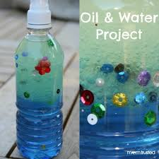 oil and water project for kids we did this yesterday and the kids