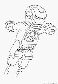Coloriage Iron Man Of Fresh Print Lego Iron Man Coloring Pages