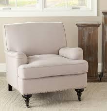 linen club chair armchair nailhead trim chair accent chairs nailhead leather