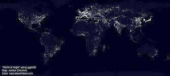 Airline Routes Map by Mapping The World U0027s Biggest Airlines R Bloggers