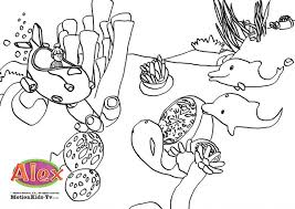 download coloring pages alex educational cartoons kids