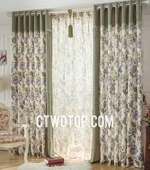 Country Style Window Curtains Collection In Country Style Window Curtains Decorating With