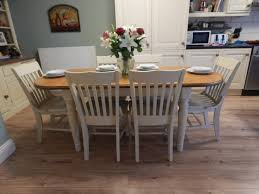 Shabby Chic Dining Table Set Shabby Chic Dining Table Diy White Floor Tile White Clear Glass