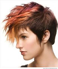 short cut tri color hair 21 short and spiky haircuts for women styles weekly