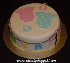 twins baby shower cake cake by the cake shoppe cakesdecor