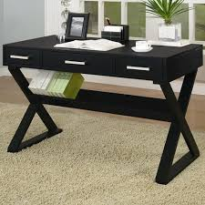 coasters for table legs coaster desks casual 3 drawer desk with criss cross legs coaster