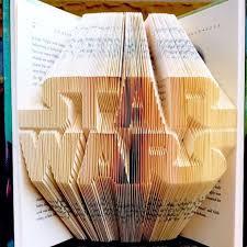 Book Paper Folding - rad starwars book paper folding by yutoyamaguchi via