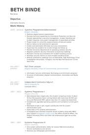 programmer resume samples visualcv resume samples database