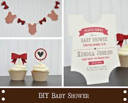 diy baby shower invitation kits invitations templates
