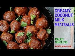 cuisine paleo coconut meatballs recipe whole30 coconut and