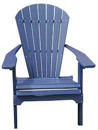 Furniture Composite Adirondack Chairs The Amazon Com Amish Made Polywood Folding Adirondack Chair