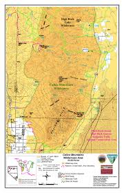 Atlas Mountains Map Calico Mountains Friends Of Black Rock High Rock