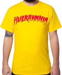 hulk hogan hulkamania t shirt 80s wrestling shirts
