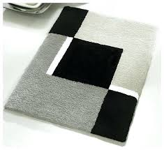 Square Bathroom Rug Precious Black Bathroom Rug Parsmfg