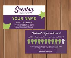 29 images of scentsy punch card printable template infovia net