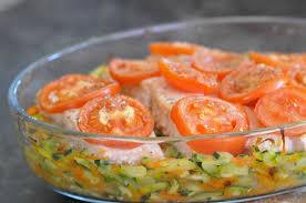 cuisiner pavé de saumon au four pavé de saumon sur lit de légumes cuisine avec du chocolat ou
