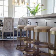 gold and black counter stools design ideas