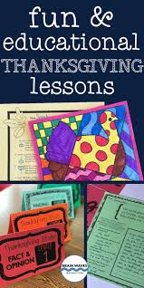 here are a few of my favorite thanksgiving lessons and thanksgiving