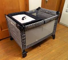 Graco Pack And Play With Bassinet And Changing Table Graco Pack N Play W Changing Station Bassinet Gray Plaid