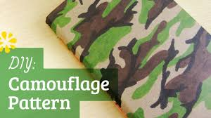army pattern clothes diy camouflage pattern sea lemon youtube