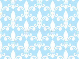what is floral pattern in french fleur de lis white and blue semless pattern french floral