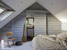decoration chambre comble avec mur incliné decoration chambre comble avec mur incline visuel 3